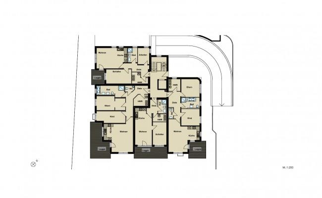 Haus A.2 Übersicht_EG_200