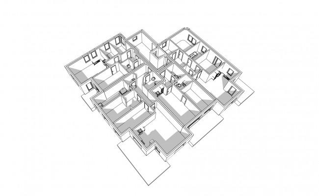 Haus A.3 Übersicht_EG_Perspektive