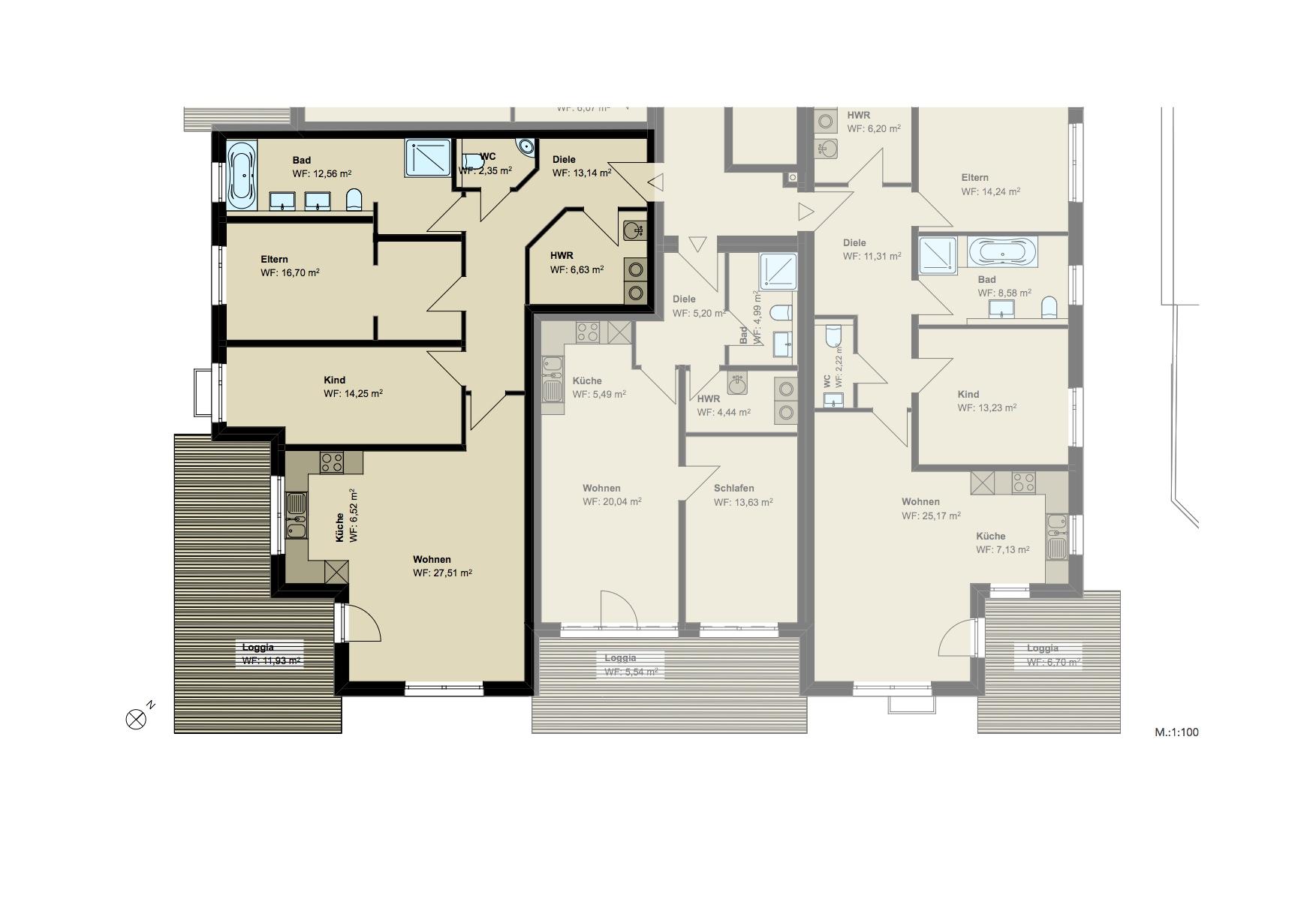 3,5-Zimmer-Wohnung (#PA3