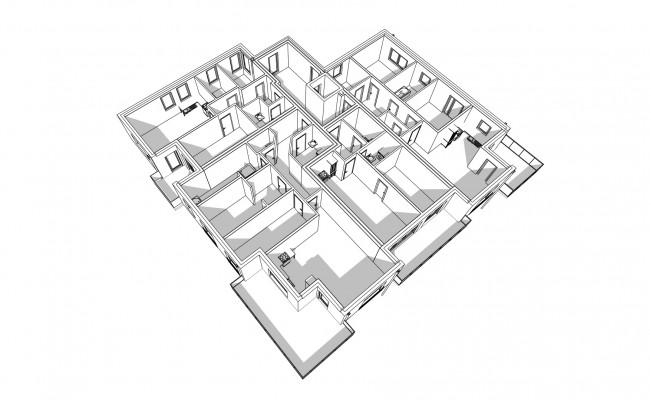 Haus A.9 Übersicht_1.OG_Perspektive