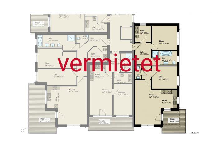 3,5-Zimmer-Wohnung (#PA1)