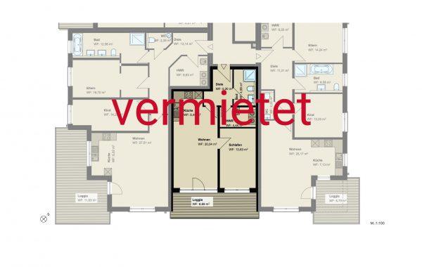 2,5-Zimmer Wohnung (#PA6)