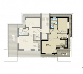 2,5-Zimmer-Penthouse-Wohnung (#PB5)