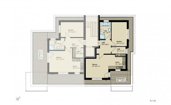 Haus B.13 Grundriss_SG_Wohnung_5_100