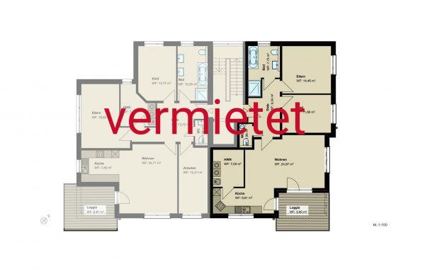 3,5-Zimmer-Wohnung (#PB3)