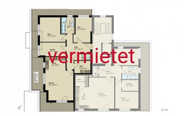 4,5-Zimmer-Penthouse-Wohnung (#PA10)