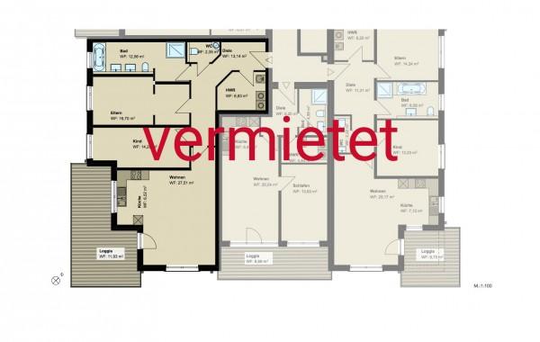3,5-Zimmer-Wohnung (#PA7)