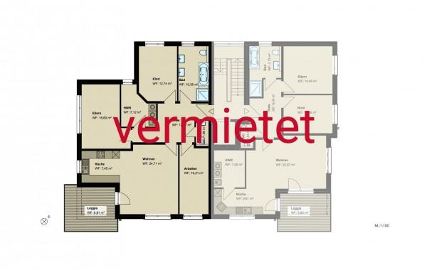 4,5-Zimmer-Wohnung (#PB4)
