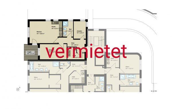3,5-Zimmer-Wohnung (#PA4)