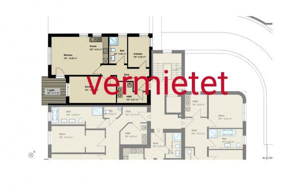 3,5-Zimmer-Wohnung (#PA8)