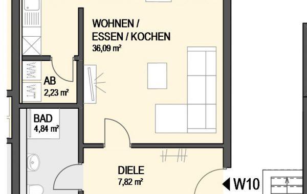 3,5-Zimmer Wohnung (#Ka10)